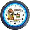 """Neonetics Retro 15"""" Rock-Ola Wall Clock"""