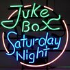 <strong>Neonetics</strong> Bar & Game Room Juke Box Saturday Night Neon Sign