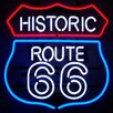 <strong>Neonetics</strong> Historic Route 66 Neon Sign
