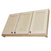 """<strong>Shaker Series 43.25"""" x 19.5"""" Surface Mount Medicine Cabinet</strong> by WG Wood Products"""