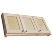 """WG Wood Products Shaker Series 43"""" x 19.5"""" Surface Mount Medicine Cabinet"""