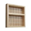 WG Wood Products On the Wall Spice Rack II