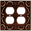 <strong>Brainerd</strong> French Lace Double Duplex Wall Plate