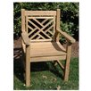 Regal Teak Chippendale Arm Chair