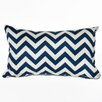 OC Fun Saks Chevron Indoor / Outdoor Lumbar Pillow