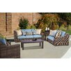 South Sea Rattan Naples Deep Seating Group with Cushions