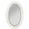CBK Distressed Oval Wall Mirror