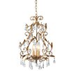 <strong>CBK</strong> Gold Leaf Crystal Chandelier