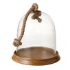 CBK Cloche with Base and Rope Handle