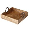 CBK Square Serving Tray with Handles