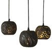 CBK 3 Piece Stamped Mini Pendant Set (Set of 3)