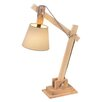 "CBK Adjustable Block 19.69"" H Table Lamp with Empire Shade"