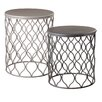 CBK Geo Wave 2 Piece Nesting Tables