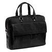 Mancini Colombian Slim Leather Laptop Briefcase