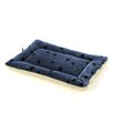Quiet Time Reversible Stuffed Pet Bed in Blue