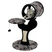 Midwest Homes For Pets Feline Nuvo Salvador Cat Furniture in Black