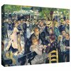 <strong>Art Wall</strong> 'Ball at the Moulin de la galette' by Pierre Renoir Gallery-Wrapped on Canvas