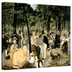 Art Wall 'music in the Tuileries Gardens' by Edouard Manet Gallery-Wrapped on Canvas