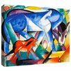 Art Wall 'The First Animals' by Franz Marc Gallery Wrapped on Canvas