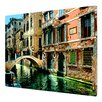 <strong>ArtMetalz 'Venice Canal' by George Zucconi Photographic Print</strong> by Art Wall