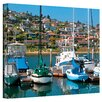 George Zucconi ''Point Loma SD'' Canvas Art