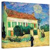 <strong>Art Wall</strong> ''The White House at Night'' by Vincent Van Gogh Original Painting on Canvas