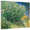 <strong>Art Wall</strong> ''Lilacs'' by Vincent Van Gogh Original Painting on Canvas