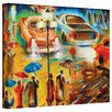 Art Wall 'In Italy Even Rain is Beautiful' by Susi Franco Painting Print on Canvas