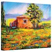 Art Wall 'Prarie Palace' by Susi Franco Graphic Art Canvas