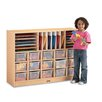 Jonti-Craft Sectional Mobile 31 Compartment Cubby