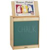 <strong>Jonti-Craft</strong> Rainbow Accents Big Book Easel - Chalkboard