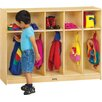 Jonti-Craft ThriftyKYDZ 5-Section Oddler Coat Locker