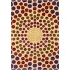 Filament  LLC Cinzia Cream Geometric Circles Area Rug