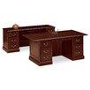 HON 94000 Series Executive Desk with Double Pedestal