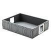 Global Views Arabesque Trapunto Rectangle Tray