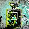 "Femme Fatale ""Mademoiselle - Green"" Canvas Art"