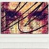 """Femme Fatale """"Poetic Vision"""" Canvas Art"""