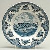 Old Britain Castles Blue Rim Soup / Pasta Bowl