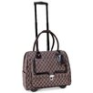 Cabrelli Inc Quilted Rolling Laptop Briefcase