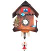 Carved Chalet Clock Black Forest