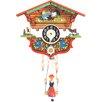 Black Forest Teeter Totter Chalet Clock