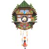 <strong>Black Forest</strong> Mountain Chalet Cuckoo Clock