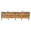Eco-Friendly Rectangular Wall Basket