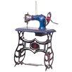 Alexander Taron Tin Sewing Machine Ornament