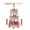 Richard Glaesser 3 Tier Nativity Scene and Holy Family Pyramid