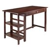 Winsome Velda Writing Desk with 2 Shelf