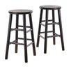 "Winsome Espresso 24"" Bar Stool (Set of 2)"