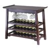 <strong>Winsome</strong> Chinois Console 25 Bottle Wine Rack