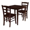 <strong>Groveland 3 Piece Dining Set</strong> by Winsome