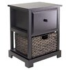 Winsome Casablanca 2 Drawer End Table